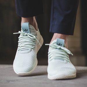 Adidas x Pharrell Williams Tennis Hu Mint Shoes